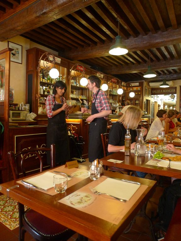 Enjoy Beaune's lively bistros and restaurants