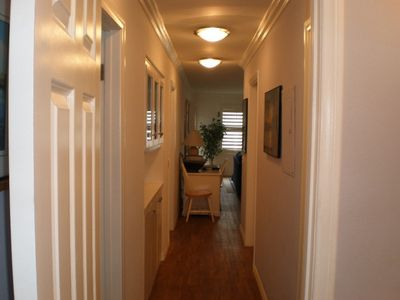 Balboa Peninsula condo rental - Hallway Number 2, a different angle.