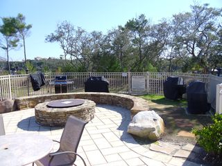 Gas Fire-pit and 4 Grills - Santa Rosa Beach condo vacation rental photo