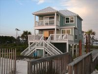 Cape Daze - Gulf Front, sleeps 9, 4 bed 3 bath, unobstructed gulf view