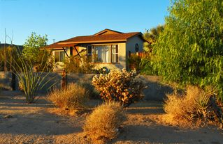 Joshua Tree house photo - Front side of Sunset Terrace House