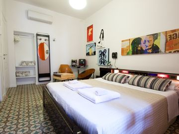 A double room, top comfort with great design