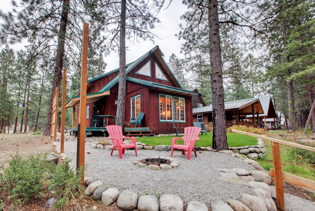 39 whispering river 39 tranquil 2br leavenworth vrbo for Leavenworth cabin rentals