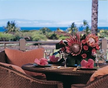 Four Seasons Hualalai villa rental - view from our lanai