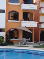 Puerto Morelos condo photo - You are only steps away to take a lovely refreshing swim.