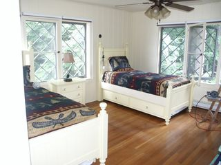 Lake Placid house photo - Twin bedroom with trundles