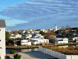 Fenwick Island townhome photo - View the Fenwick Island Lighthouse from the Kitchen/Dining Room/3rd Flr. Balcony