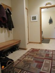 Fraser townhome photo - Entry way has extra storage for winter coats and boots