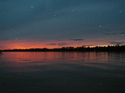 Stars twinkle as the sun sets - more stars than you can imagine!  Come see!