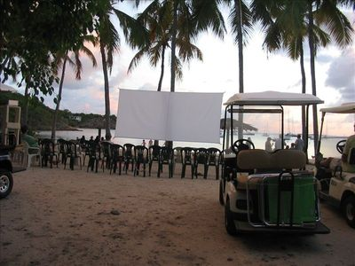 Monday Night Movie on Honeymoon Beach