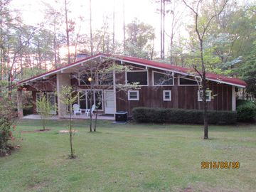 Lake Eufaula / Walter F. George house rental - FRONT VIEW OF CABIN