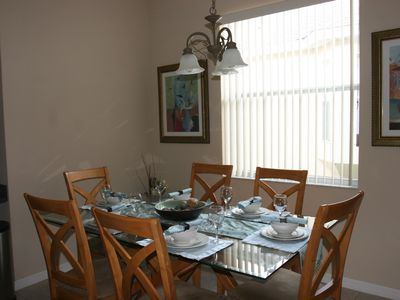 Haines City villa rental - Dining room
