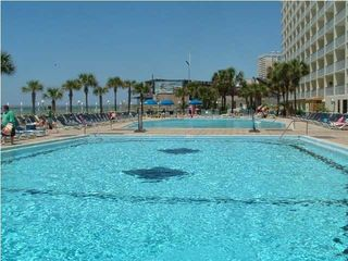The Summit condo photo - The Summit has two very large pools that are beach side.