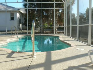 Vacation Homes in Marco Island house photo - Heated Pool