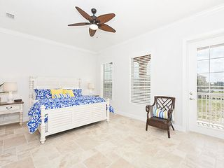 Palm Coast house photo - Second Floor Master Bedroom wth king bed & patio access