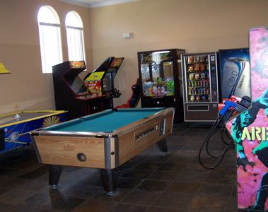 Game room in clubhouse for all ages!
