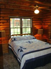 Eagle Mountain Lake house photo - Queen size bed in second bedroom