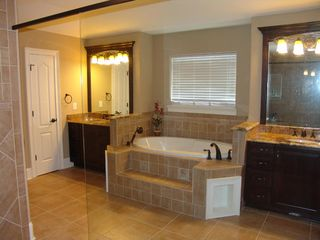 Cherry Grove Beach estate photo - Main Master Suite with Dual Vanities and Jacuzzi Tub