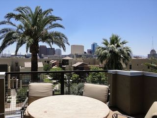 Fourth floor patio. - Phoenix townhome vacation rental photo