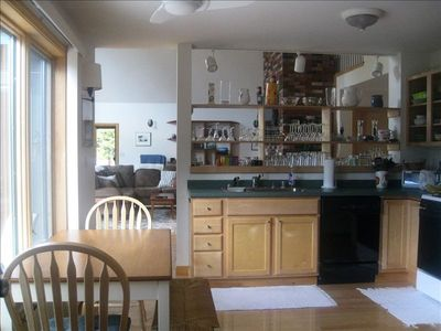 Southwest Harbor cottage rental - Kitchen