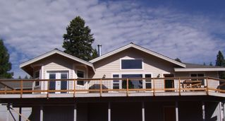 Lake Almanor house photo - Big Deck For BBQ's With Friends And Family.