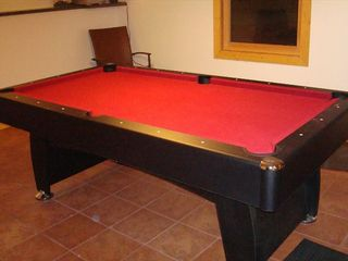 Galena house photo - Pool Table