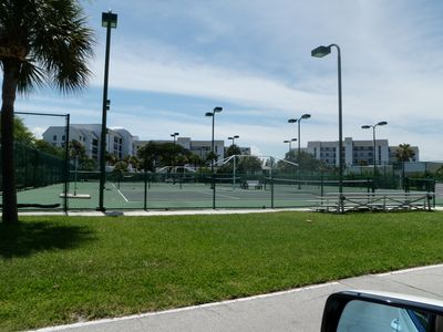 Tennis Courts through out the complex