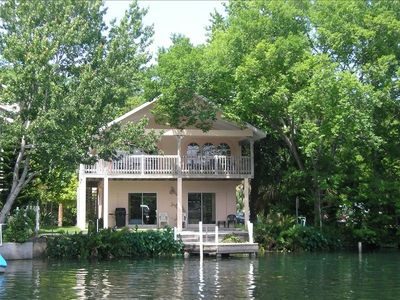 Upscale River Front Stilt Home with Large Garage