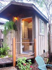 Mendocino cottage photo - Separate Private Full Bath