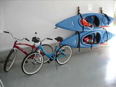Fenwick Island house rental - Bikes & Kayaks