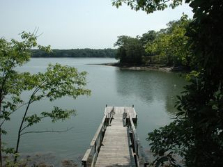 Dock - Cushing house vacation rental photo