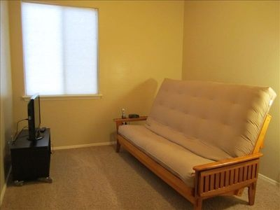 Futon Room for sleeping and gaming (Queen)