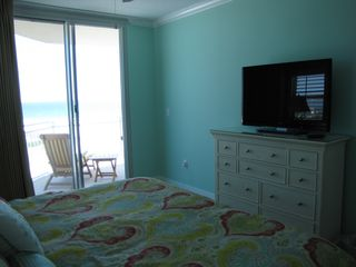 Fort Walton Beach condo photo - View from master bedroom with a 42' Vizio 3D LED HDTV and Blu-ray DVD player.