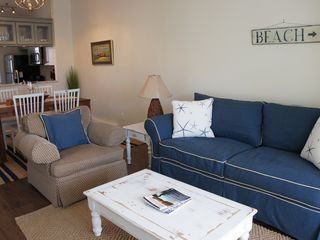 Brewster Ocean Edge Resort condo photo - Living Room and Dining Area