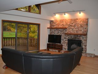 Lake Wallenpaupack property rental photo - Living room