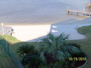 Gulf Shores condo photo - Small Children's Beach View From Balcony