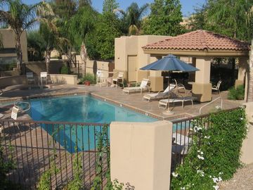 Other Scottsdale Properties townhome rental - Beautiful pool and Hot tub, with two gas grills