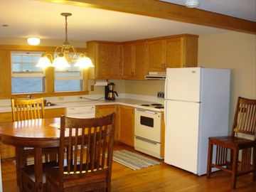 Kitchen is Spacious and Inviting