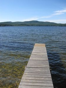 Clean, Clear Water-Private Dock-Easy 2 Minute Stroll down a wooded path.