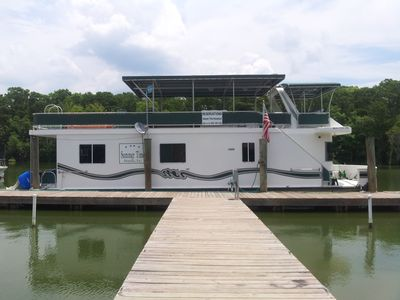 Lovely Houseboat w/pontoon boat in LA bayous. Perfect for fishermen,families!