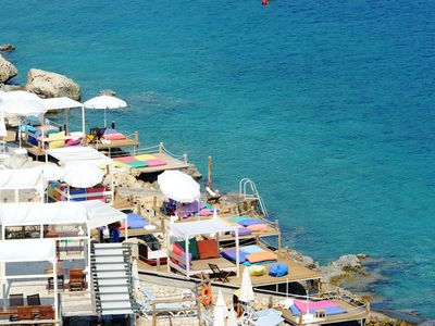 Antalya hotel rental - Sea side platforms for your enjoyment