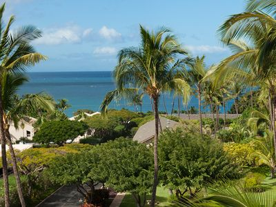 Walk to the beach or sit on the lanai and enjoy the view.