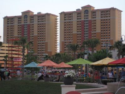 Calypso Resort - Towering Over Pier Park