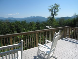 Northeast view from deck - Bartlett house vacation rental photo