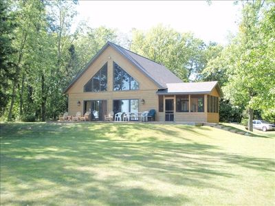 Beautiful all season northern wisconsin vrbo for Vrbo wisconsin cabins