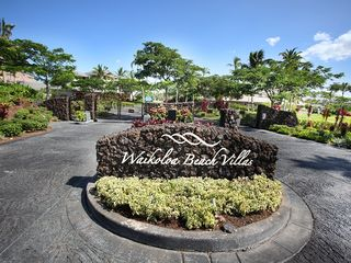 Waikoloa Beach Resort condo photo - At the front gate to The Villas...!