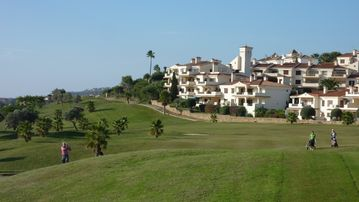 The Golf Course just 800m from Duquesa Suites