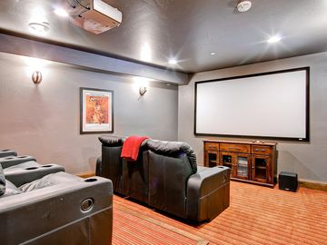 Home theater - movies and cable for the big football games!