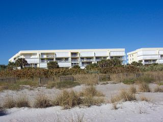Cape Canaveral condo photo - Building from beach unit is center balcony 2nd from top