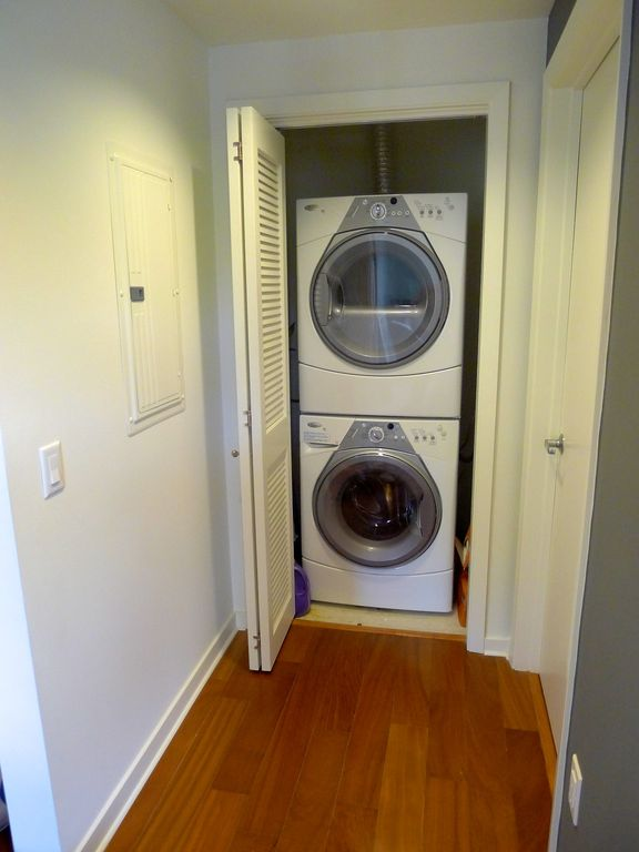 Laundry washer / dryer included in unit.